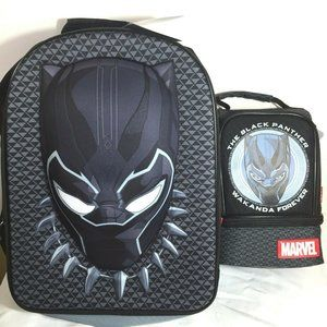 Disney Store The Black Panther Backpack & Lunch Ba